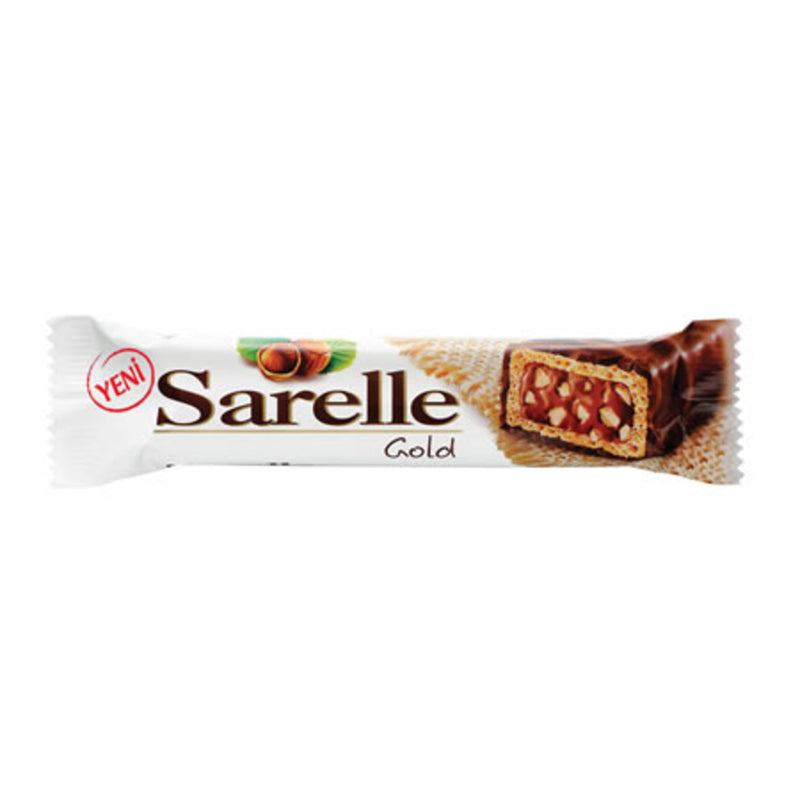 Sarelle Gold Hazelnut Wafer (Gofret) 33g