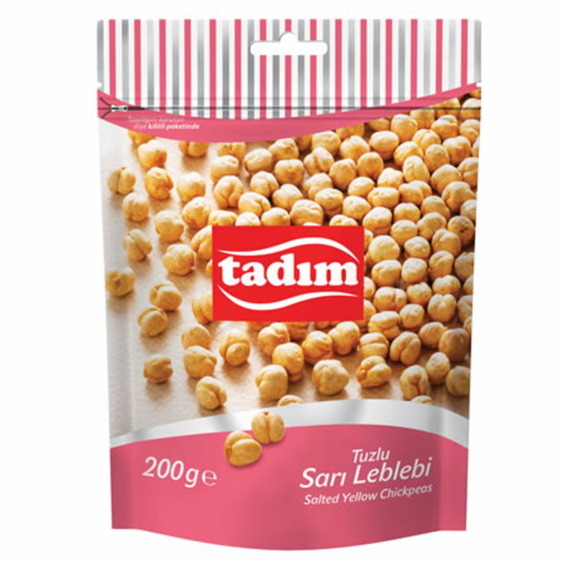 Tadım Salted Roasted Yellow Chickpeas (Sarı Leblebi) 200g