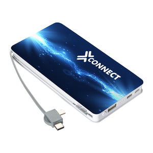 Wireless charging Powerbank Leichester 5.000 mAh