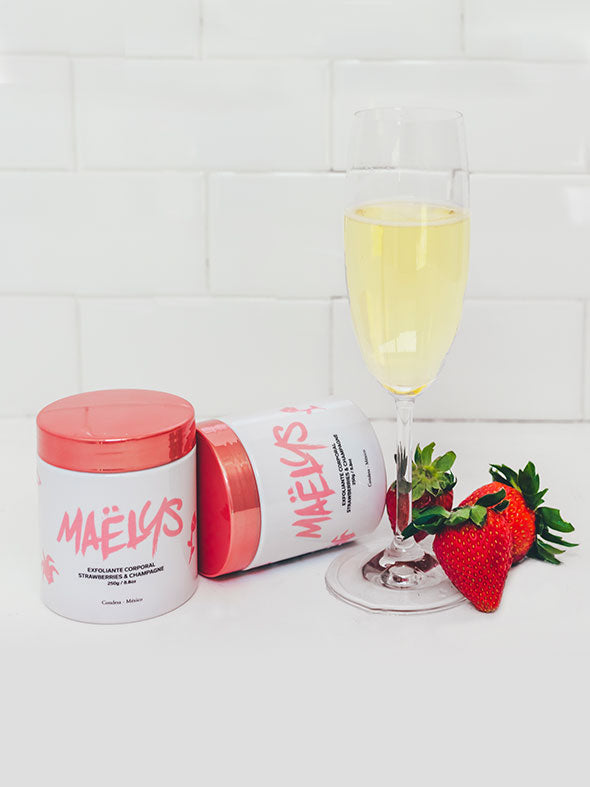 Exfoliante Strawberries & Champagne, 250g