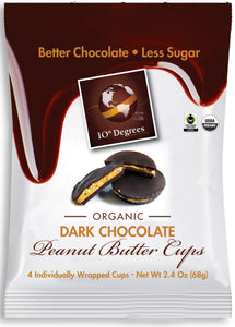 Organic Dark Chocolate Peanut Butter Cups
