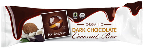 Organic Dark Chocolate Coconut Bar