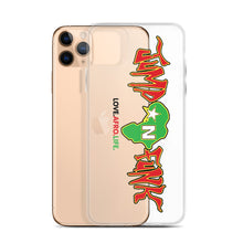 Load image into Gallery viewer, RM JUMP N FUNK RED BLACK & GREEN IPHONE CASE