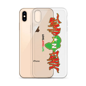 RM JUMP N FUNK RED BLACK & GREEN IPHONE CASE