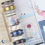 Sets de 10 Washi Tape exclusifs Petit Prince ® Tampons LoveInTheMoon