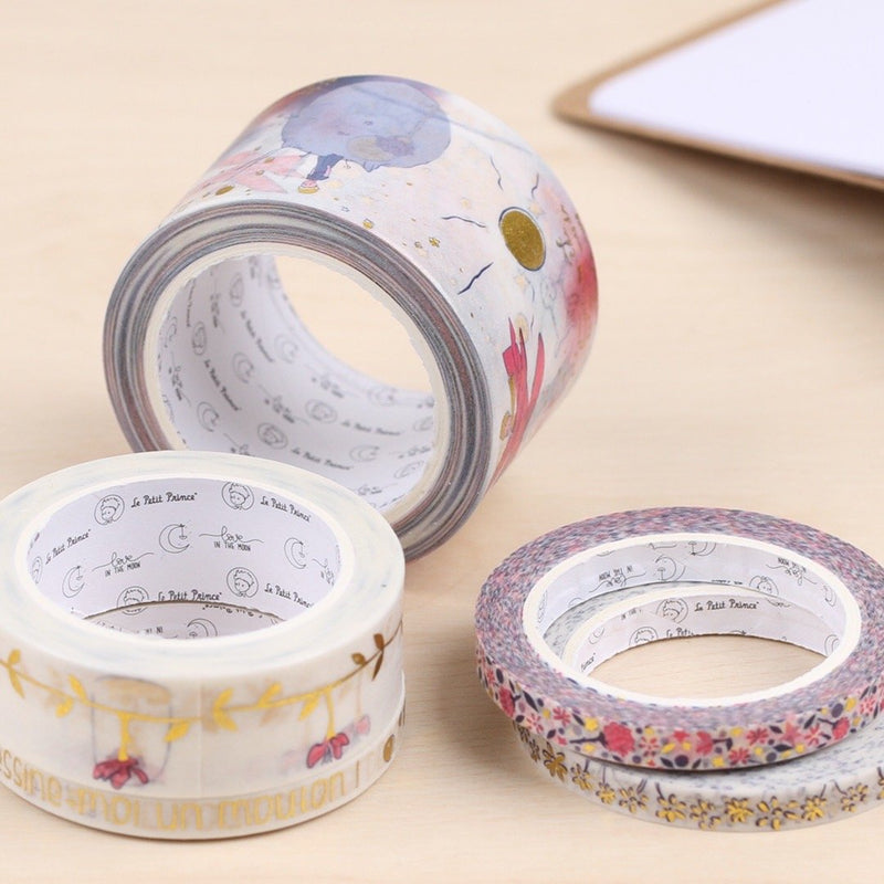 Sets de 10 Washi Tape exclusifs Petit Prince ® Washi Tape LoveInTheMoon