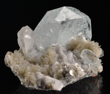 Load image into Gallery viewer, Beryl var. Aquamarine from Mt. Xuebaoding, Pingwu, Sichuan Province, China