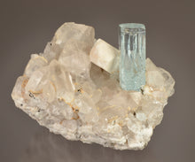 Load image into Gallery viewer, Beryl variety Aquamarine from , Skardu, Northern Areas, Pakistan