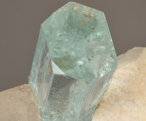 Beryl variety Aquamarine from , Skardu, Northern Areas, Pakistan