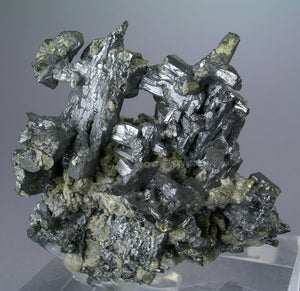 Acanthite from Hongda Mine, Lingqiu, Shanxi Province, China