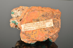Adamite variety Cuprian from Laurium-Greece