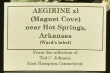 Load image into Gallery viewer, Aegerine from Magnet Cove, Arkansas, USA