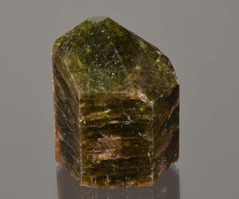 Apatite from Yates Mine, Otter Lake, Quebec, Canada