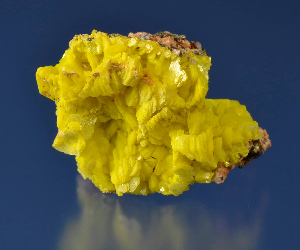 Autunite from Margnac Mine, Haut Vienne, Limousin, France