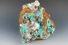 Load image into Gallery viewer, Aurichalcite with Calcite from Ojuela Mine, Mapami, Durango, Mexico