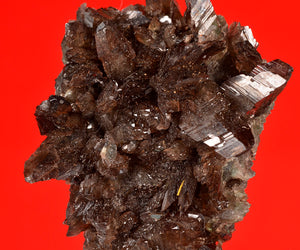 Axinite from Bor Mine, Dal'negorsk, Far-Eastern Region, Russia