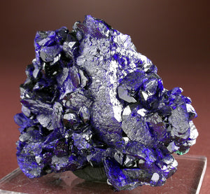 Azurite with Malachite from Milpillas Mine, Sonora, Mexico