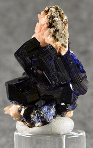 Azurite from , Touissit, Morocco