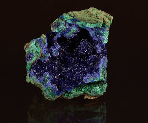 Azurite from Liufengshan Mine, Anhui Province, China