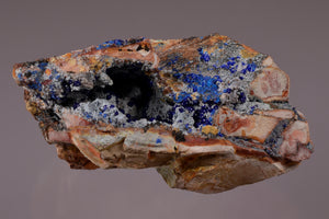 Azurite from Sierra Rica, Chihuahua, Mexico