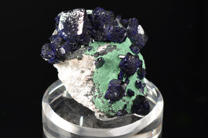 Azurite from Milpillas Mine, Cuitaca, Sonora, Mexico