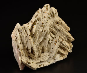Barite from Dreislar Mine, near Korbach, Sauerland, Germany