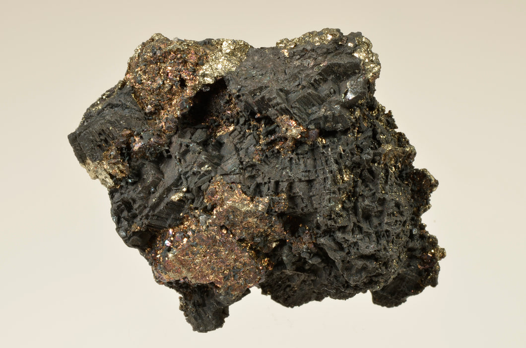 Bornite from Belmont Mine, 3200 Level, Butte, Montana, USA