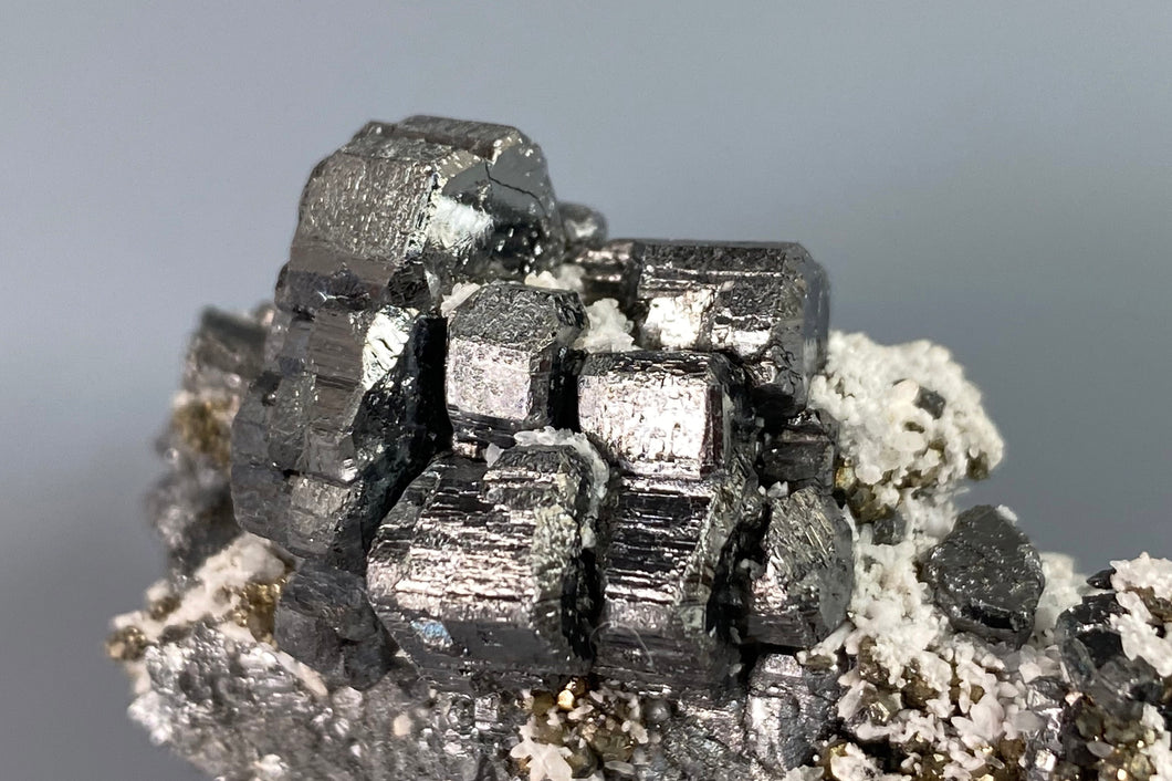 Bournonite from Pachapaqui Mine, Dept. Ancash, Peru