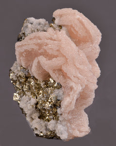 Calcite from Boldut Mine, Cavnic, Romania