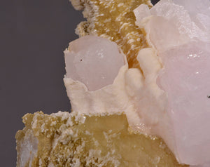 Calcite from 2nd Sovietski Mine, Dal'negorsk, Far-Eastern Region, Russia
