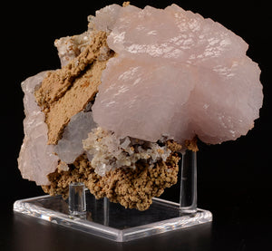 Calcite var. Manganocalcite from Nikolaevskiy Mine, Dal'negorsk, Far-Eastern Region, Russia