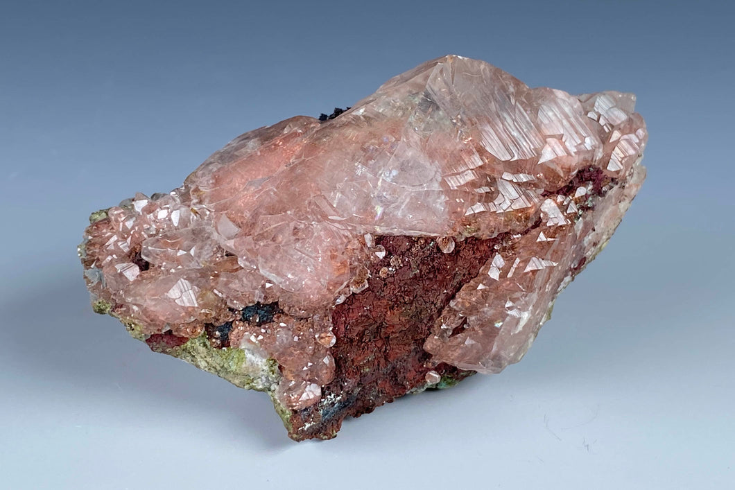 Calcite with Copper from Phoenix Mine, Keweenaw Co., Michigan, USA