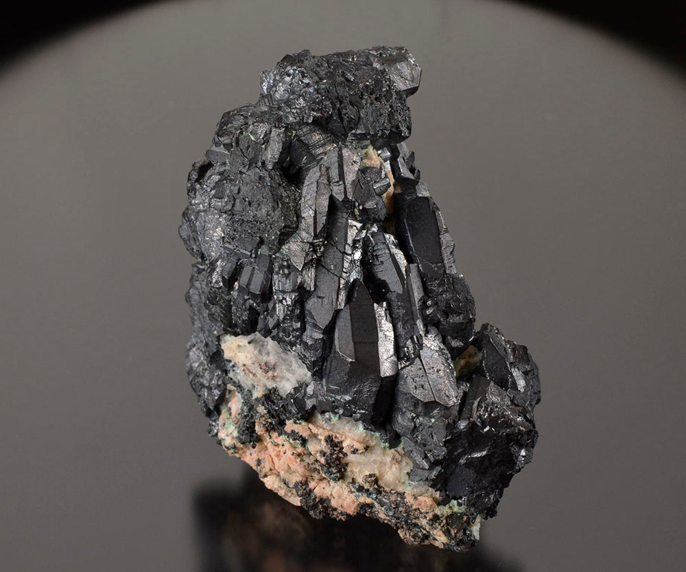 Chalcocite from Levant Mine, Pendeen, Cornwall, England