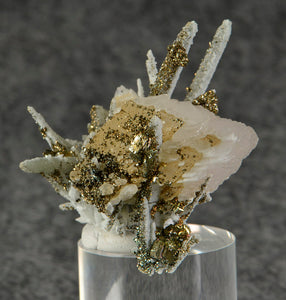 Chalcopyrite from Dal'negorsk, Far-Eastern Region, Russia