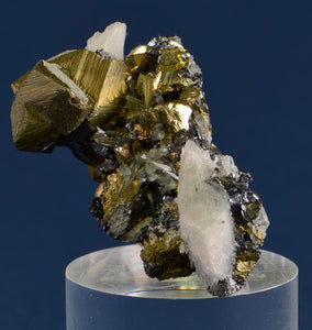 Chalcopyrite from Ground Hog Mine, near Silver City, New Mexico