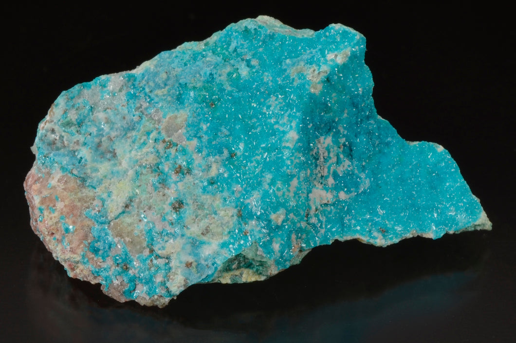 Caledonite from Victoria Segunda Mine, El Tamurugal Province, Tarapaca Region, Chile