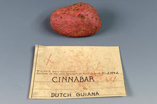 Load image into Gallery viewer, Cinnabar from Dutch Guiana, Suriname