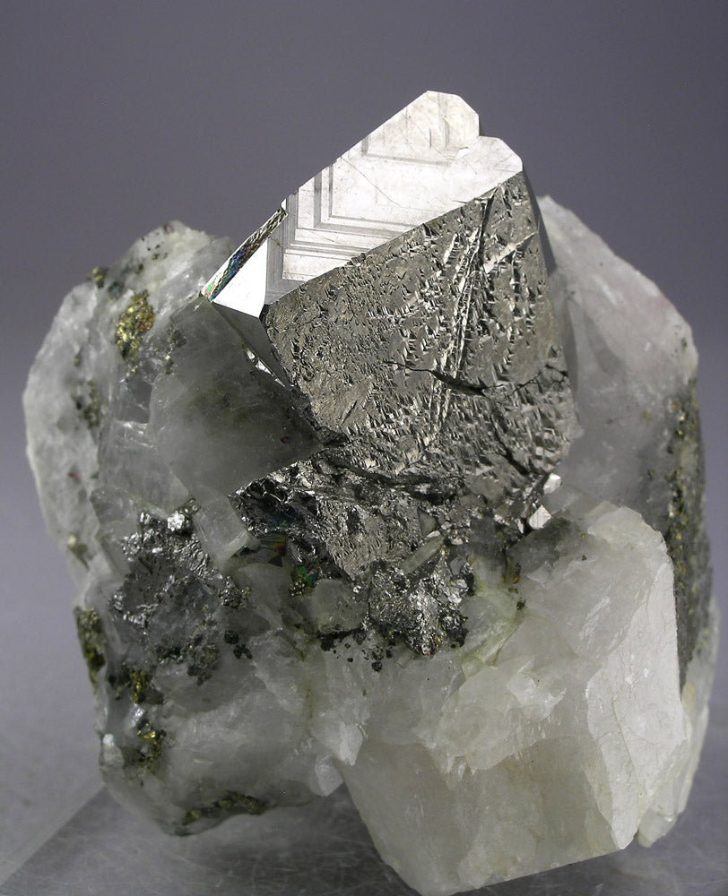 Carrollite from Kamoya South Mine, Katanga, D.R. Congo
