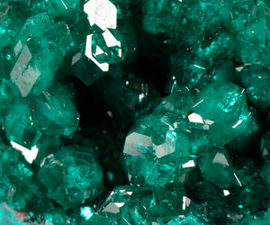 Dioptase from Tsumeb Mine, Tsumeb, Namibia