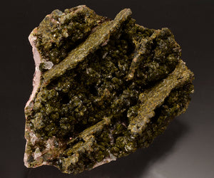 Epidote from Hongquizhen Quarry, Meigu Co., Sichuan Province, China