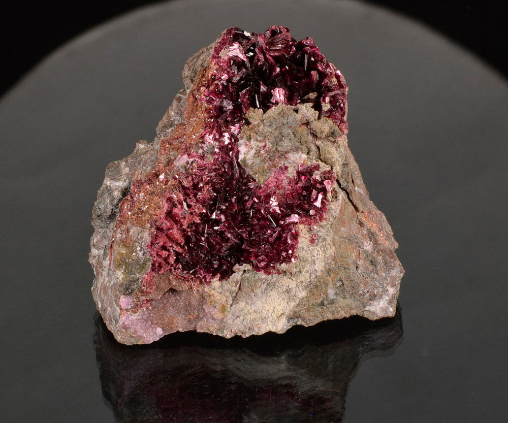 Erythrite from Bou Azzer,  Morocco