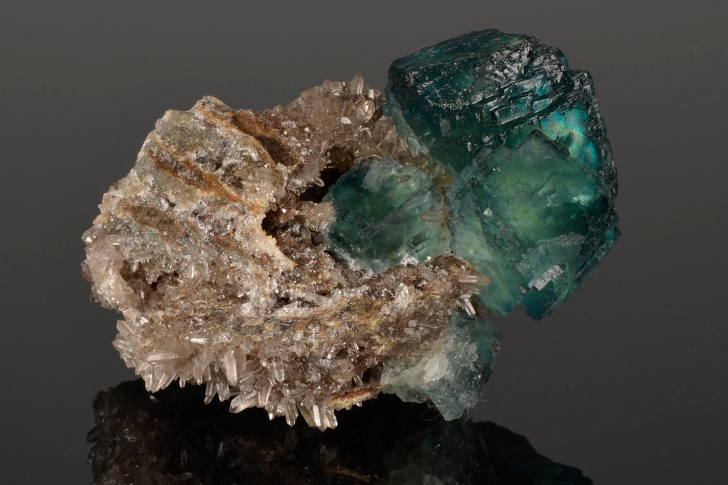 Fluorite from Xianghualing-Mine-Hunan-Province-China