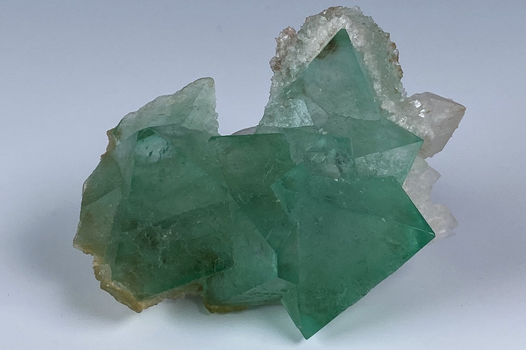 Fluorite from Riemvasmaak, Northern Cape Province, South Africa