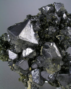 Galena from Turt Mine, Satu Mare, Romania