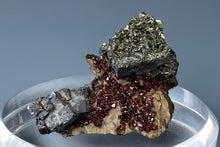 Load image into Gallery viewer, Galena with Sphalerite and Marcasite from Tri-State District, Joplin, Missouri, USA