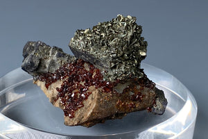 Galena with Sphalerite and Marcasite from Tri-State District, Joplin, Missouri, USA