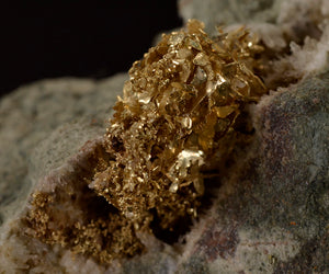 Gold from Olinghouse Mine, Washoe Co., Nevada, USA