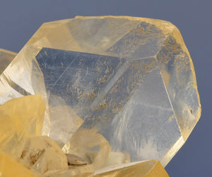 Gypsum var. Selenite from Red River Spillway, Winnipeg, Manitoba, Canada