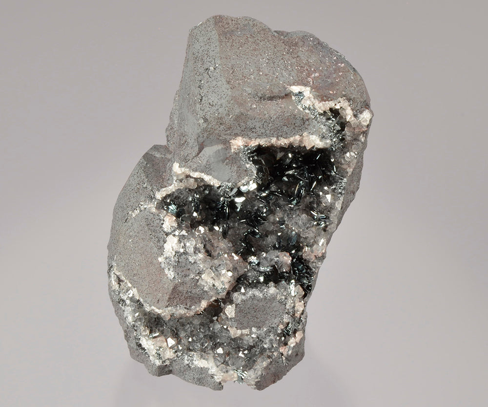 Hematite from Beckermet Mine, Cumbria, (Cumberland), England