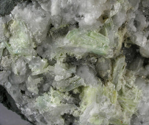 Hydrocerussite from Merehead Quarry, Cranmore, Somerset, United Kingdom